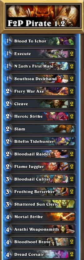 F2P Pirate Warrior 1.2
